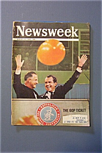 Newsweek Magazine - August 19, 1968 - The Gop Ticket