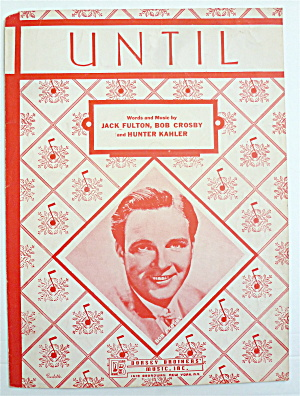 Sheet Music For 1945 Until