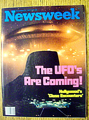 Newsweek Magazine-November 21, 1977-UFO's Are Coming (Image1)