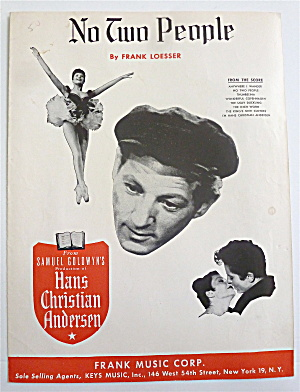 Sheet Music For 1951 No Two People