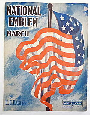 Sheet Music For 1927 National Emblem March
