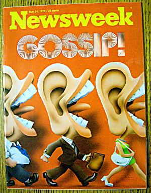 Newsweek Magazine-May 24, 1976-Gossip (Image1)