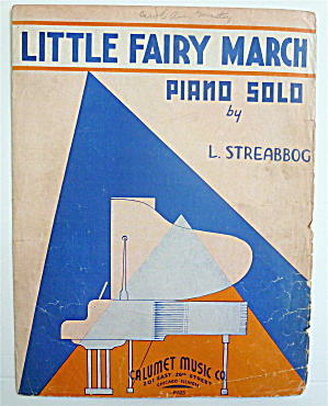 Sheet Music For 1935 Little Fairy March