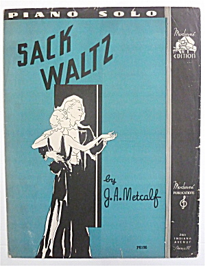 Sheet Music For 1936 Sack Waltz