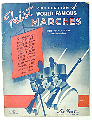 Sheet Music 1936 Feist Collection Of Famous Marches