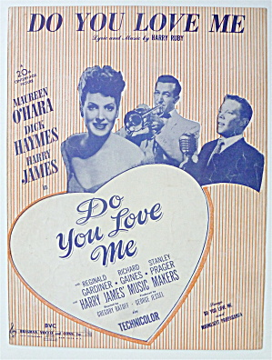 Sheet Music For 1946 Do You Love Me