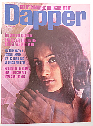 Dapper Magazine December 1966 Andrea Addison