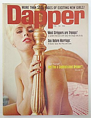 Dapper Magazine February 1966 Cathy Curtis (Image1)