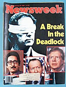 Newsweek Magazine - February 25, 1980 - Deadlock (Image1)