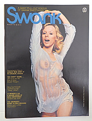 Swank Magazine August 1972 Fawn Faurote