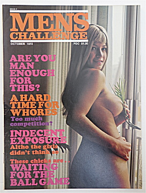 Men's Challenge Magazine October 1972