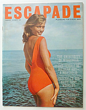 Escapade Magazine February 1962 Female In Mexican Art (Image1)