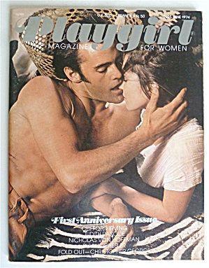 Playgirl Magazine June 1974 Christopher George