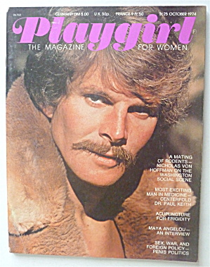 Playgirl Magazine October 1974 Paul Keith