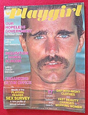 Playgirl Magazine October 1976 David White