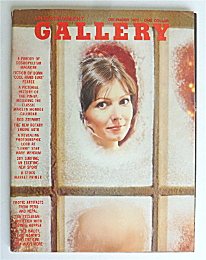 Gallery Magazine December 1972 Claudie Perrin