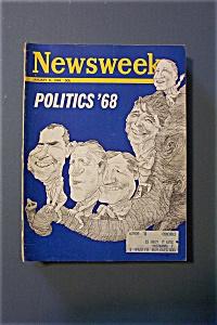 Newsweek Magazine - January  8, 1968 - Politics  '68 (Image1)