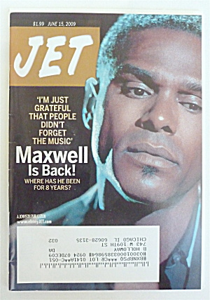 Jet Magazine June 15, 2009 Maxwell Is Back