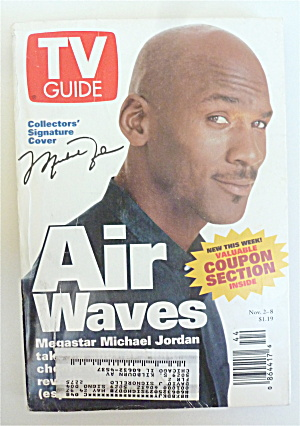 Tv Guide November 2-8, 1996 Michael Jordan