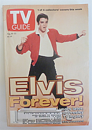 Tv Guide August 16-22, 1997 Elvis Forever