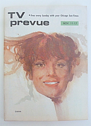 Tv Prevue November 11-17, 1973 Diana