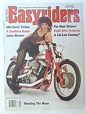 Easyriders Magazine August 1987 Eight Bike Features