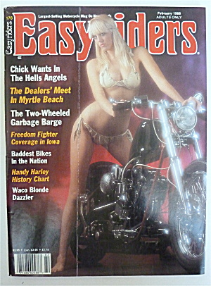 Easyriders Magazine February 1988 Myrtle Beach