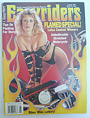 Easyriders Magazine October 1990 Packing For Sturgis