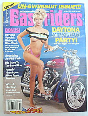 Easyriders Magazine April 1991 Daytona Party