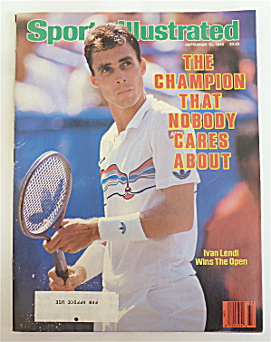 Sports Illustrated September 15, 1986 Ivan Lendl