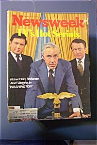 Newsweek Magazine-September  5, 1977-Jason Robards (Image1)