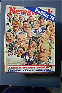 Newsweek Magazine - January  12, 1976 - Politics  '76 (Image1)