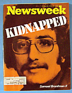 Newsweek Magazine - August 25, 1975 - Kidnapped (Image1)