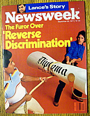 Newsweek Magazine-September 26, 1977-Discrimination (Image1)