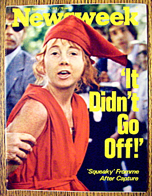 Newsweek Magazine-September 15, 1975-Squeaky Fromme (Image1)