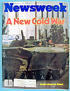 Newsweek Magazine - January 14, 1980 - Soviet Armor (Image1)