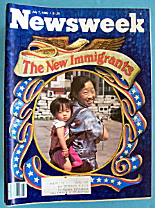 Newsweek Magazine - July 7, 1980 - New Immigrants (Image1)