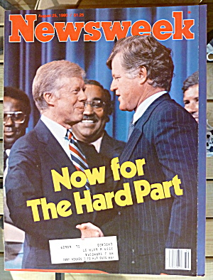 Newsweek Magazine-august 25, 1980-carter & Kennedy