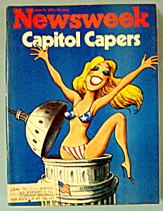 Newsweek Magazine - June 14, 1976 - Capitol Capers (Image1)