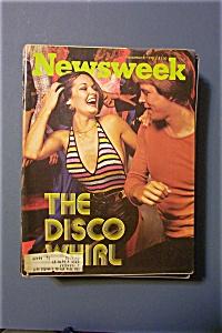Newsweek Magazine - November  8, 1976 - The Disco Whirl (Image1)