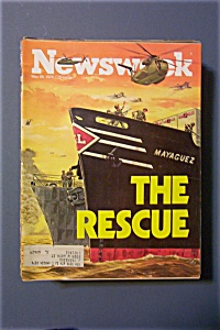 Newsweek Magazine-May 26, 1975-The Rescue (Image1)