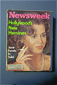 Newsweek Magazine-October 10, 1977-Jane Fonda (Image1)