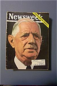 Newsweek Magazine - June 10, 1968 - Showdown in France (Image1)