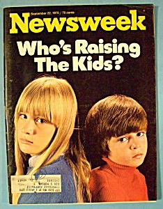 Newsweek Magazine - September 22, 1975 - Raising Kids (Image1)