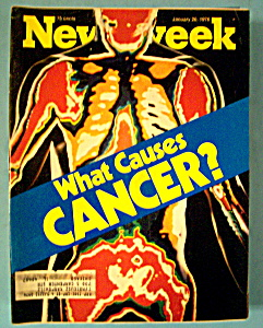 Newsweek Magazine -January 26, 1976- What Causes Cancer (Image1)