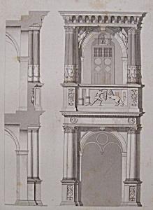 Hotel De Ville, A Cologne (1852 Lithograph) (Image1)