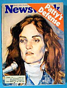 Newsweek Magazine - March 1, 1976 - Patty's Defense (Image1)