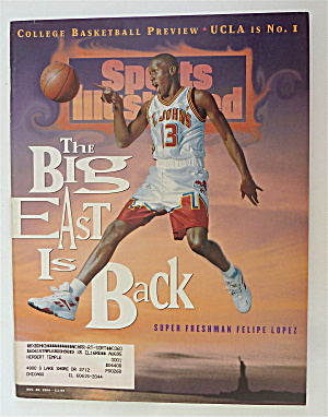 Sports Illustrated November 28, 1994 Felipe Lopez