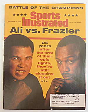 Sports Illustrated September 30, 1996 Ali Vs. Frazier