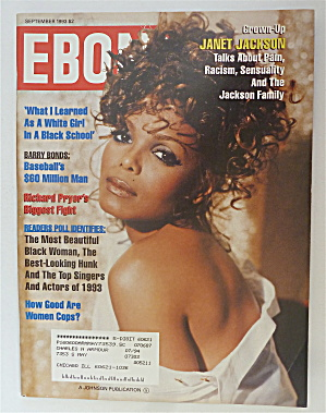 Ebony Magazine September 1993 Janet Jackson